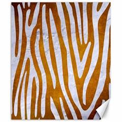 Skin4 White Marble & Yellow Grunge (r) Canvas 20  X 24   by trendistuff