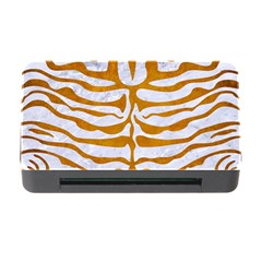 Skin2 White Marble & Yellow Grunge (r) Memory Card Reader With Cf by trendistuff