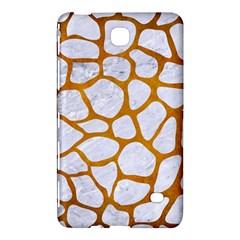 Skin1 White Marble & Yellow Grunge Samsung Galaxy Tab 4 (7 ) Hardshell Case  by trendistuff