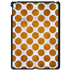 Circles2 White Marble & Yellow Grunge (r) Apple Ipad Pro 9 7   Black Seamless Case by trendistuff