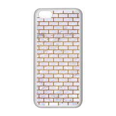 Brick1 White Marble & Yellow Grunge (r) Apple Iphone 5c Seamless Case (white) by trendistuff