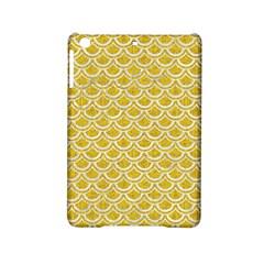 Scales2 White Marble & Yellow Denim Ipad Mini 2 Hardshell Cases by trendistuff
