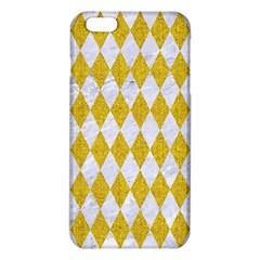 Diamond1 White Marble & Yellow Denim Iphone 6 Plus/6s Plus Tpu Case by trendistuff