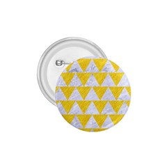 Triangle2 White Marble & Yellow Colored Pencil 1 75  Buttons by trendistuff