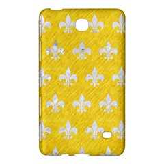 Royal1 White Marble & Yellow Colored Pencil (r) Samsung Galaxy Tab 4 (8 ) Hardshell Case  by trendistuff