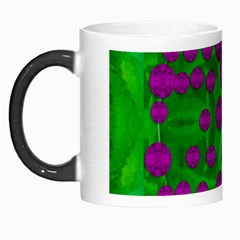 The Pixies Dance On Green In Peace Morph Mugs by pepitasart