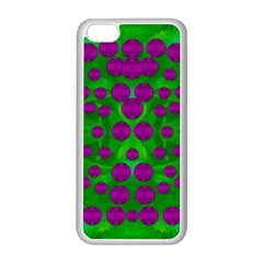 The Pixies Dance On Green In Peace Apple Iphone 5c Seamless Case (white) by pepitasart