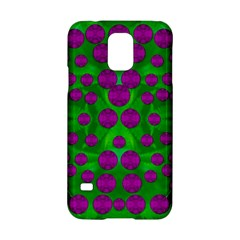 The Pixies Dance On Green In Peace Samsung Galaxy S5 Hardshell Case  by pepitasart