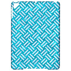 Woven2 White Marble & Turquoise Marble Apple Ipad Pro 9 7   Hardshell Case by trendistuff