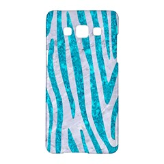Skin4 White Marble & Turquoise Marble Samsung Galaxy A5 Hardshell Case  by trendistuff