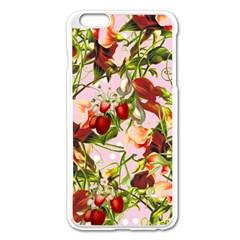 Fruit Blossom Pink Apple Iphone 6 Plus/6s Plus Enamel White Case by snowwhitegirl