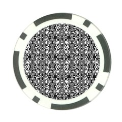 Dark Camo Style Design Poker Chip Card Guard (10 Pack) by dflcprints