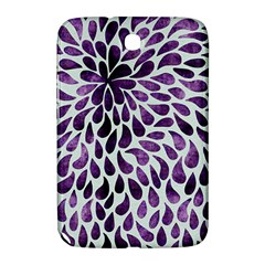 Purple Abstract Swirl Drops Samsung Galaxy Note 8 0 N5100 Hardshell Case  by vintage2030