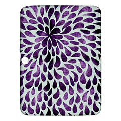 Purple Abstract Swirl Drops Samsung Galaxy Tab 3 (10 1 ) P5200 Hardshell Case  by vintage2030