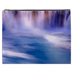 Waterfall Cosmetic Bag (xxxl)  by snowwhitegirl