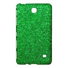 Green Glitter Samsung Galaxy Tab 4 (7 ) Hardshell Case  by snowwhitegirl