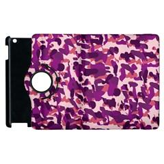 Pink Camo Apple Ipad 2 Flip 360 Case by snowwhitegirl