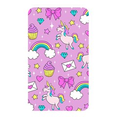 Cute Unicorn Pattern Memory Card Reader by Valentinaart