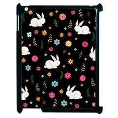 Easter Bunny  Apple Ipad 2 Case (black) by Valentinaart
