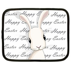 Easter Bunny  Netbook Case (xl)  by Valentinaart