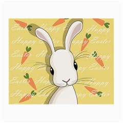 Easter Bunny  Small Glasses Cloth by Valentinaart