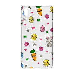Easter Kawaii Pattern Sony Xperia Z3+ by Valentinaart