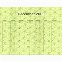 Girls Calendar By Joyfulviktory   Wall Calendar 11  X 8 5  (12 Months)   50bf4yxlj3ck   Www Artscow Com Dec 2009