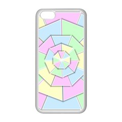 Color Wheel 3d Pastels Pale Pink Apple Iphone 5c Seamless Case (white) by Nexatart