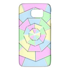Color Wheel 3d Pastels Pale Pink Galaxy S6 by Nexatart