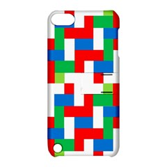 Geometric Maze Chaos Dynamic Apple Ipod Touch 5 Hardshell Case With Stand by Nexatart