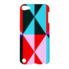 Geometric Pattern Design Angles Apple Ipod Touch 5 Hardshell Case by Nexatart