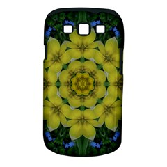 Fantasy Plumeria Decorative Real And Mandala Samsung Galaxy S Iii Classic Hardshell Case (pc+silicone) by pepitasart