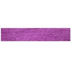 Purple Denim Large Flano Scarf  by snowwhitegirl