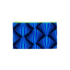 Abstract Waves Motion Psychedelic Cosmetic Bag (xs) by Nexatart
