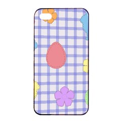 Easter Patches  Apple Iphone 4/4s Seamless Case (black) by Valentinaart