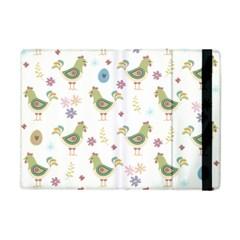 Easter Pattern Apple Ipad Mini Flip Case by Valentinaart