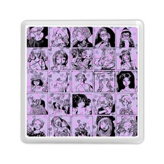 Lilac Yearbook 1 Memory Card Reader (square)  by snowwhitegirl