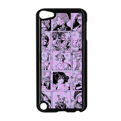 Lilac Yearbook 1 Apple Ipod Touch 5 Case (black) by snowwhitegirl