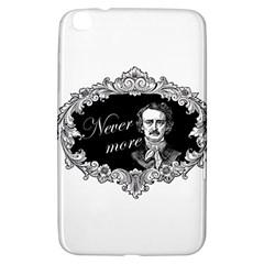 Edgar Allan Poe    Never More Samsung Galaxy Tab 3 (8 ) T3100 Hardshell Case  by Valentinaart