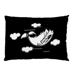 Bird Pillow Case (two Sides) by ValentinaDesign