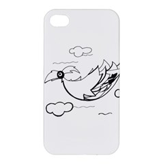 Bird Apple Iphone 4/4s Hardshell Case by ValentinaDesign