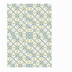 Vivid Check Geometric Pattern Large Garden Flag (two Sides) by dflcprints