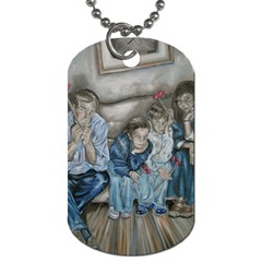The Nobodies Dog Tag (two Sides) by redmaidenart