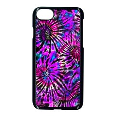 Purple Tie Dye Madness  Apple Iphone 7 Seamless Case (black) by KirstenStar