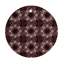 Oriental Ornate Pattern Ornament (round) by dflcprints