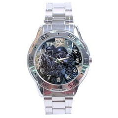 More Pepper Stainless Steel Analogue Watch by redmaidenart