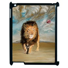 The Journey Apple Ipad 2 Case (black) by redmaidenart