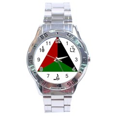 Afghan National Air Force Roundel Stainless Steel Analogue Watch by abbeyz71