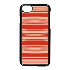 Abstract Linear Minimal Pattern Apple Iphone 7 Seamless Case (black) by dflcprints