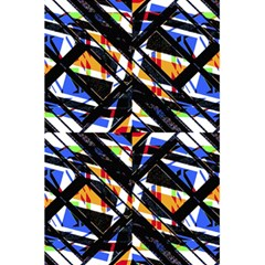 Multicolor Geometric Abstract Pattern 5 5  X 8 5  Notebooks by dflcprints